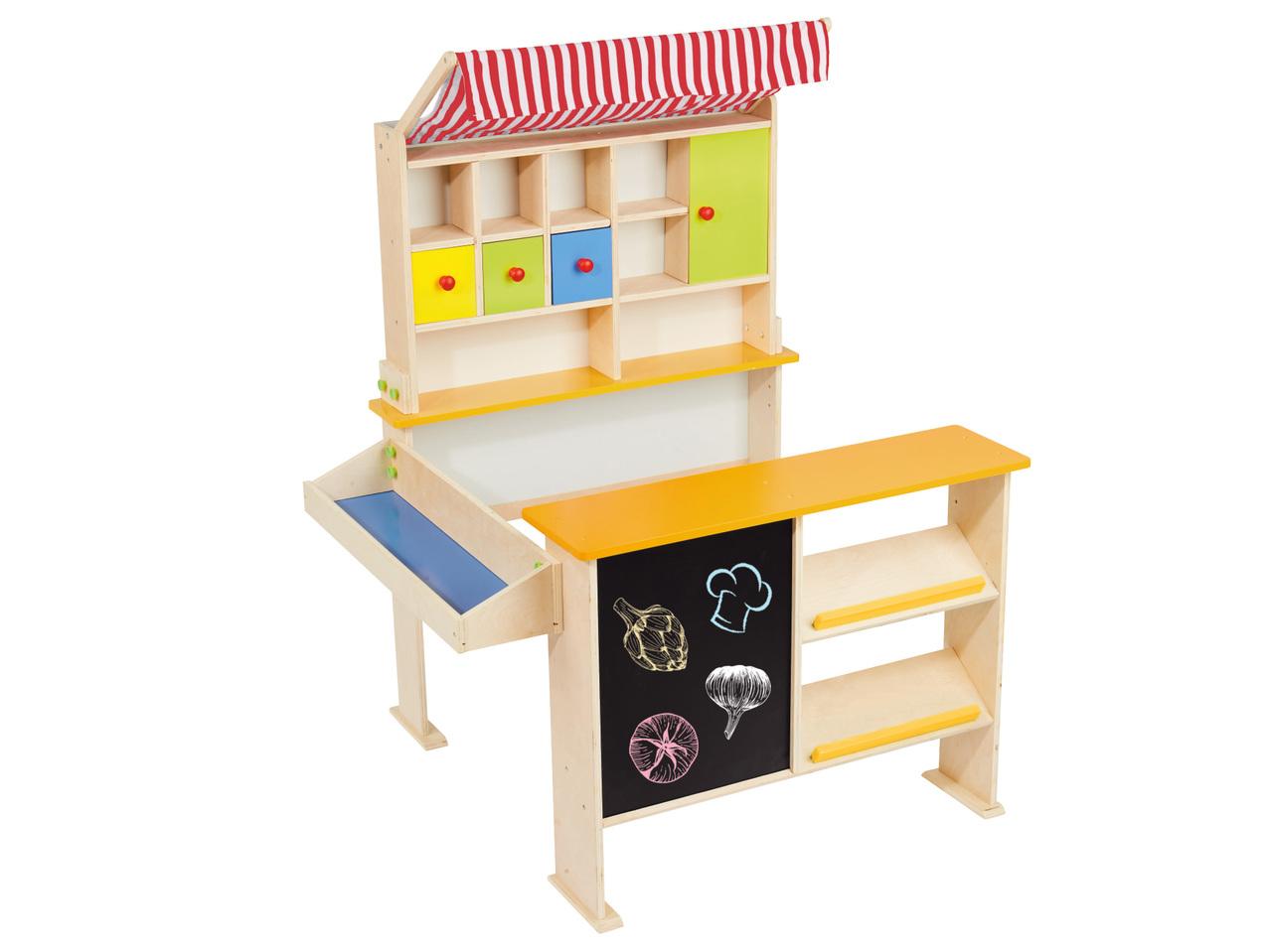 Houten kassa 4495 - Geweldig (budget!) houten speelgoed tips voor Sinterklaas