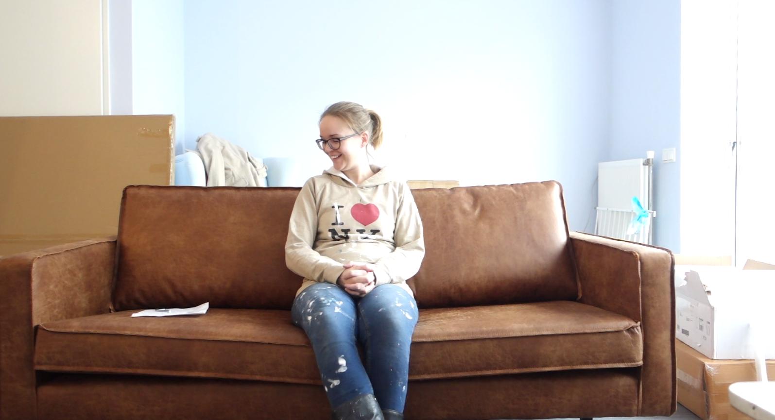 Verhuisvlog #2 - Verven & De nieuwe meubelen!