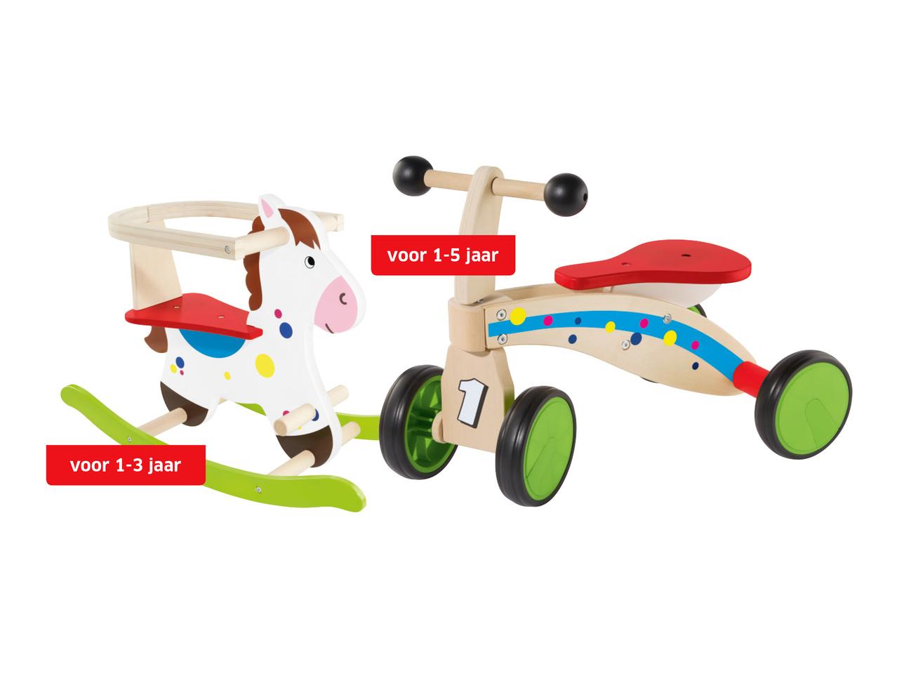 hobbelpaarden 2999 - Geweldig (budget!) houten speelgoed tips voor Sinterklaas