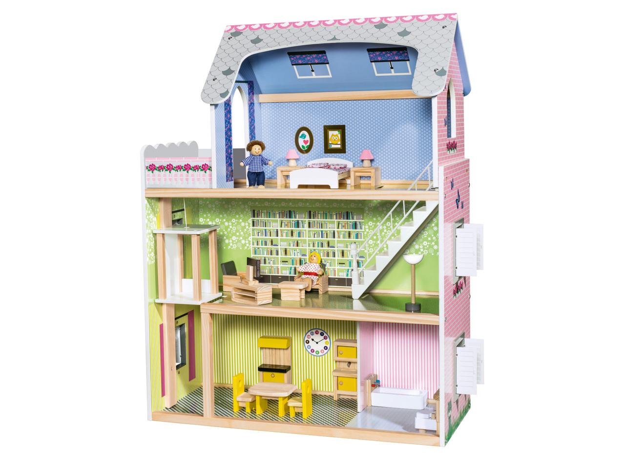 houten dollhouse 59.99 - Geweldig (budget!) houten speelgoed tips voor Sinterklaas