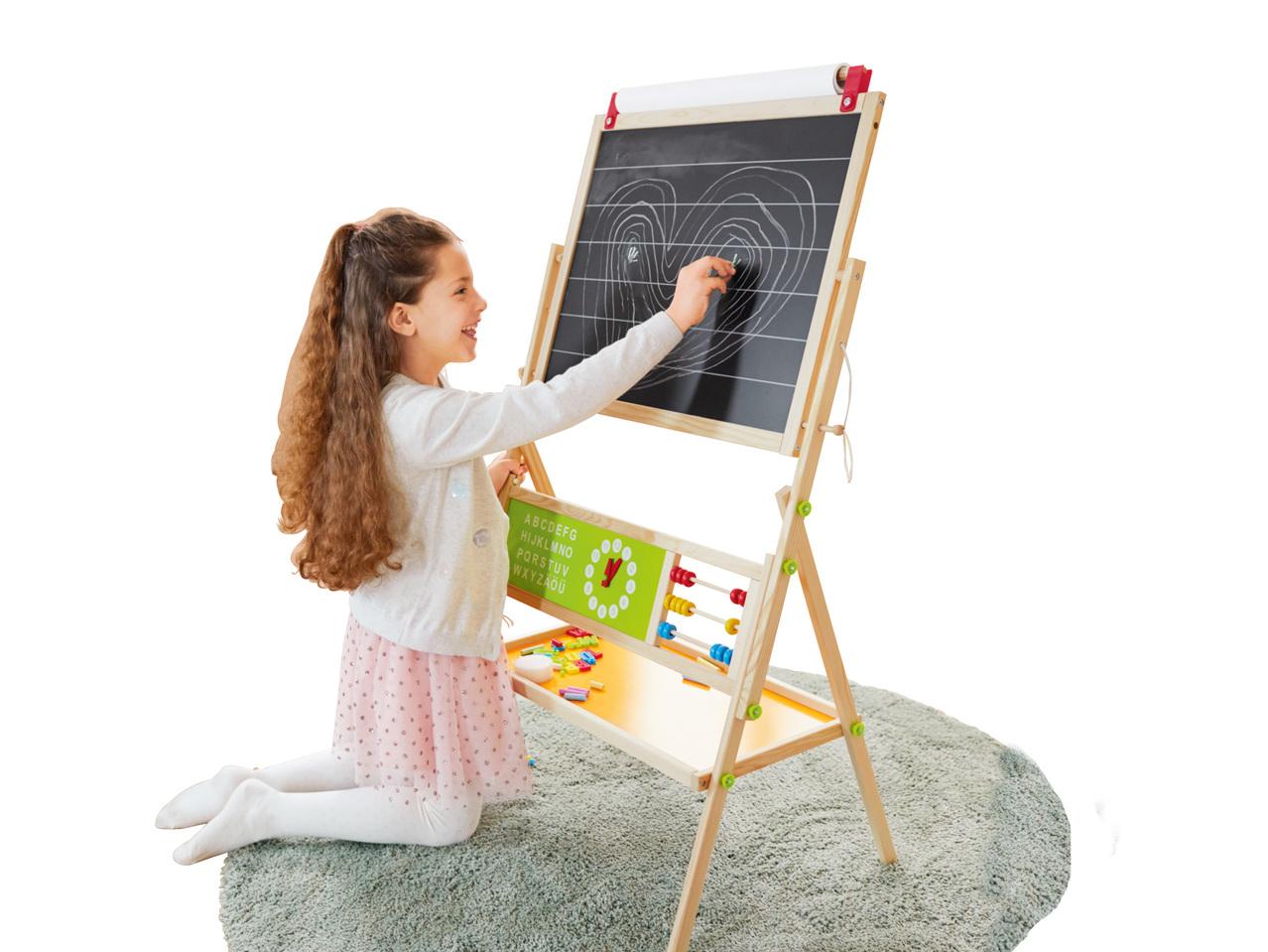 houten leerbord 2499 - Geweldig (budget!) houten speelgoed tips voor Sinterklaas