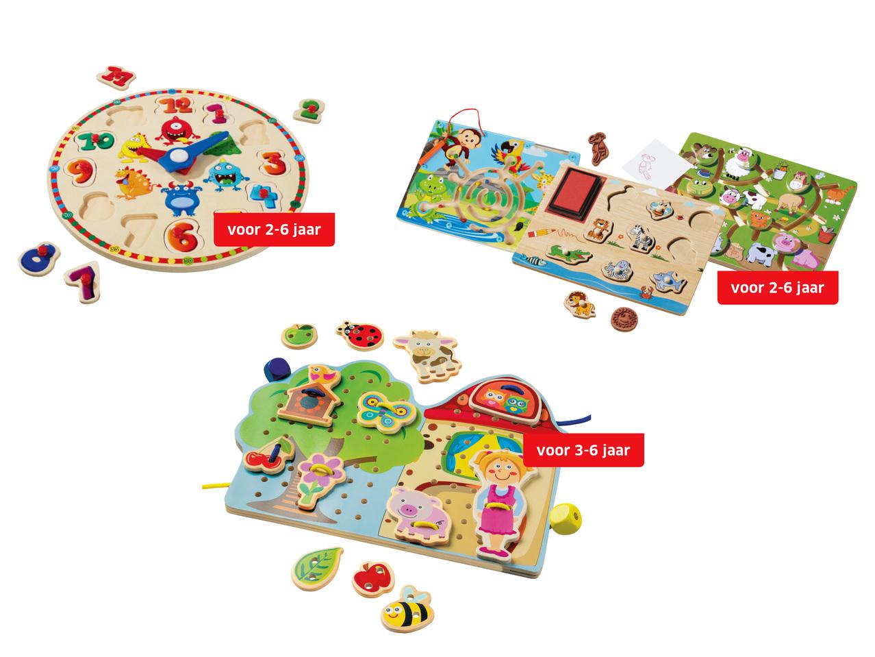 houten puzzels 499 - Geweldig (budget!) houten speelgoed tips voor Sinterklaas