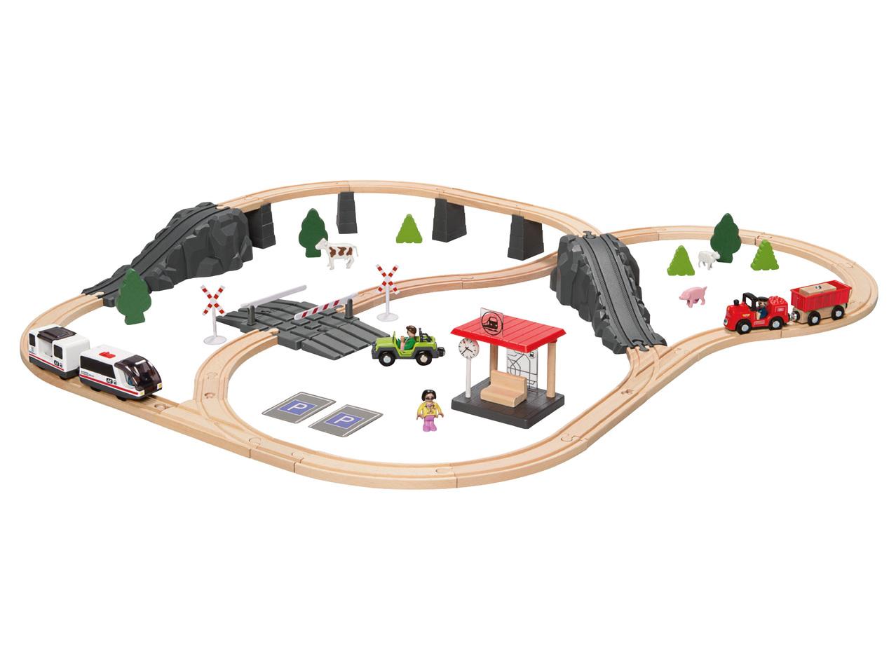 houten treinbaan 1999 - Geweldig (budget!) houten speelgoed tips voor Sinterklaas