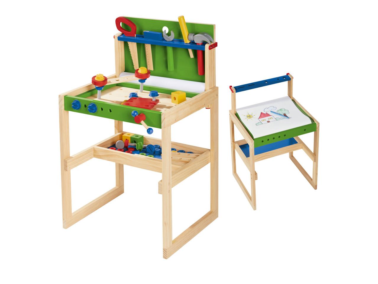 houten werkbank 2999 - Geweldig (budget!) houten speelgoed tips voor Sinterklaas