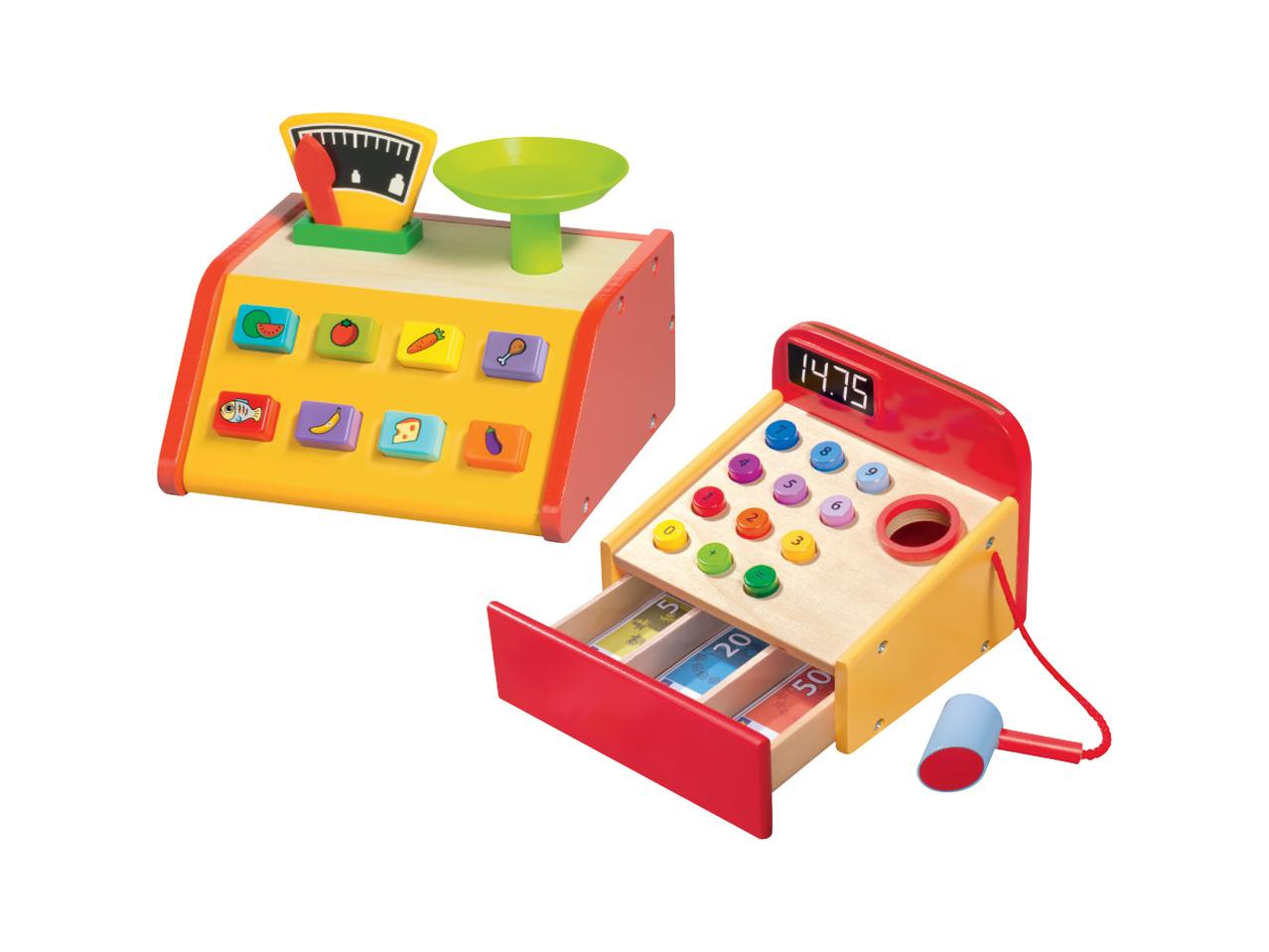 toebehoren kassa 999 - Geweldig (budget!) houten speelgoed tips voor Sinterklaas