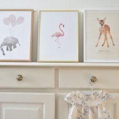 Nieuwe Posters voor de Babykamer van Zusje!