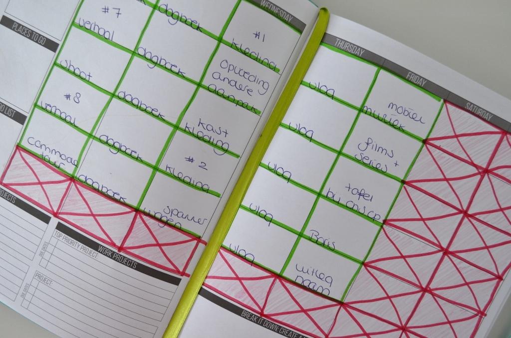 Mijn Passion Planner 'Agenda' - Hoe gebruik ik hem?