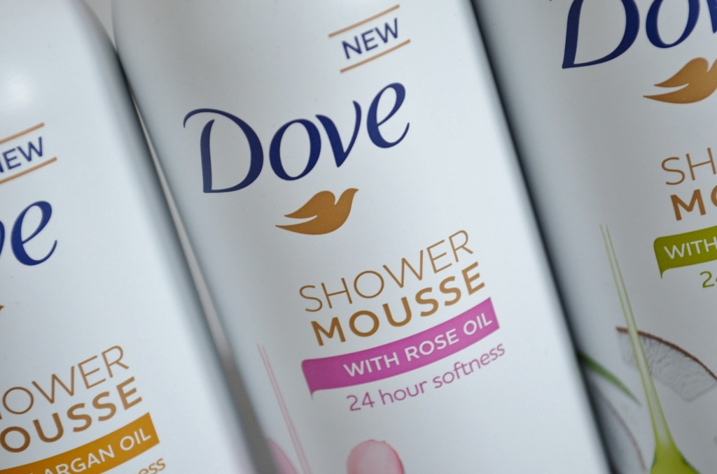 Nieuwe Dove Shower & Shave Mousse Review