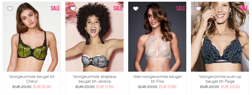 Sale Hunkemöller bhs - De leukste 'ondergoed' items in de Sale!