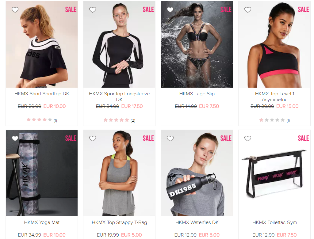Sale Hunkemöller sport - De leukste 'ondergoed' items in de Sale!