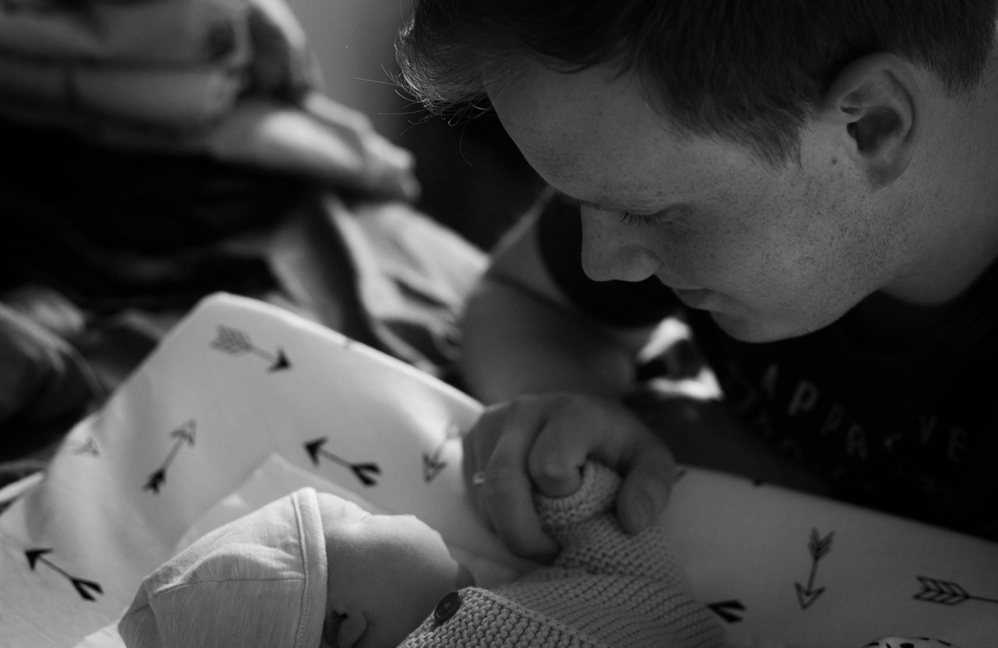 De dag dat ik opnieuw vader werd - door Boris