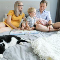 Newborn video - wij als nieuwbakken gezinnetje van vier