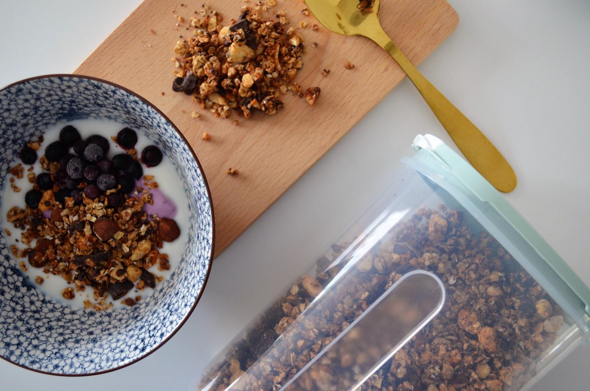 Zelfgemaakte Granola/Cruesli/Muesli maken!