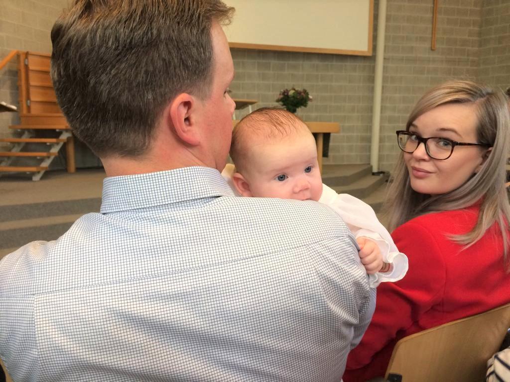 Elise's Weekly Pictorama - De doop van Hazel