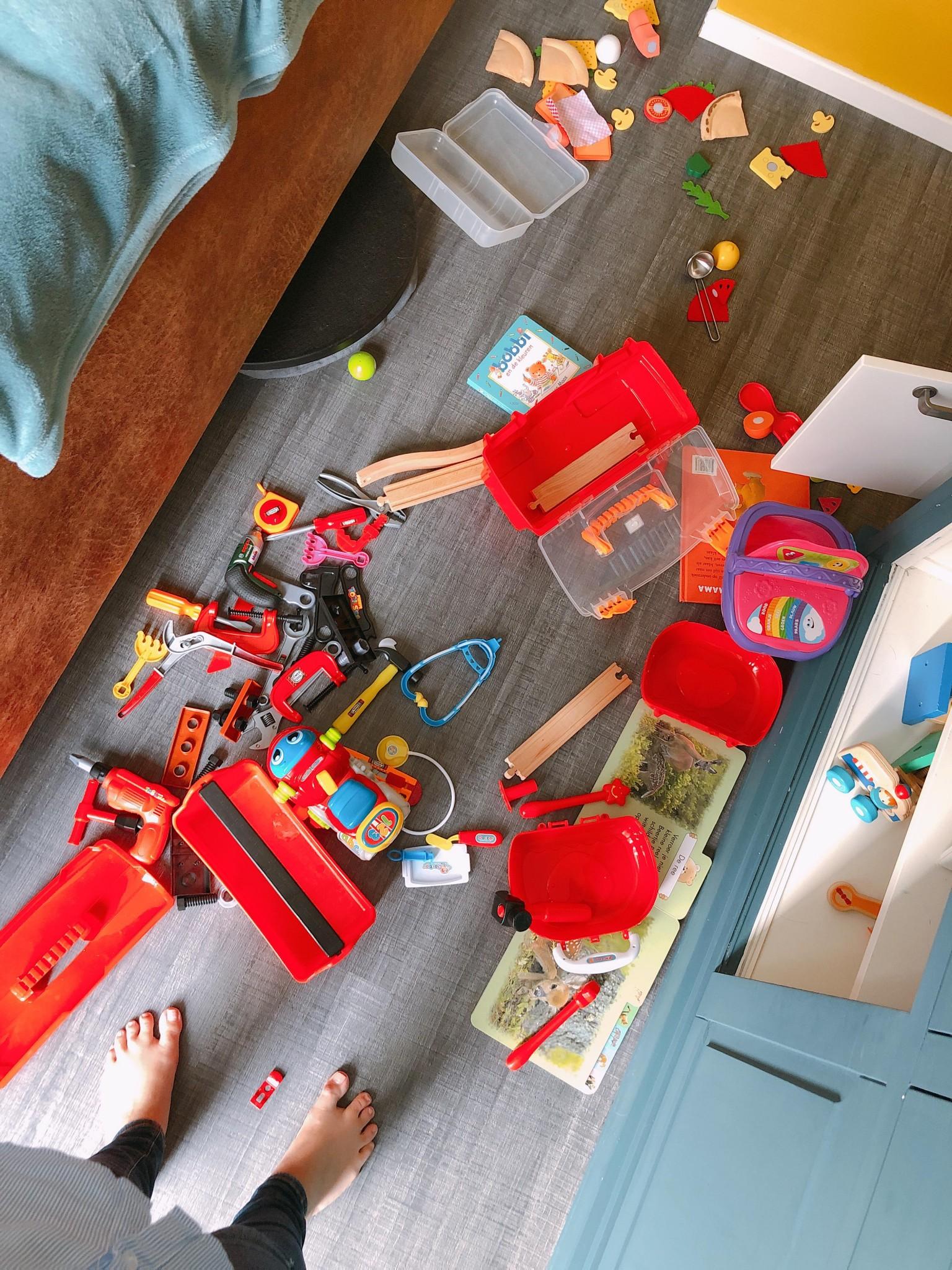 Elise's Weekly Pictorama - De kinderen uit logeren!