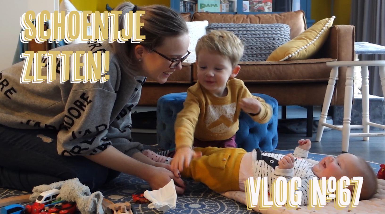 Vlog #67: Vriendinnenpret in Abcoude & Schoentje zetten!