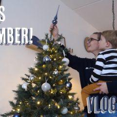 Vlog #68: Sinterklaas vieren & Kerstboom opzetten!