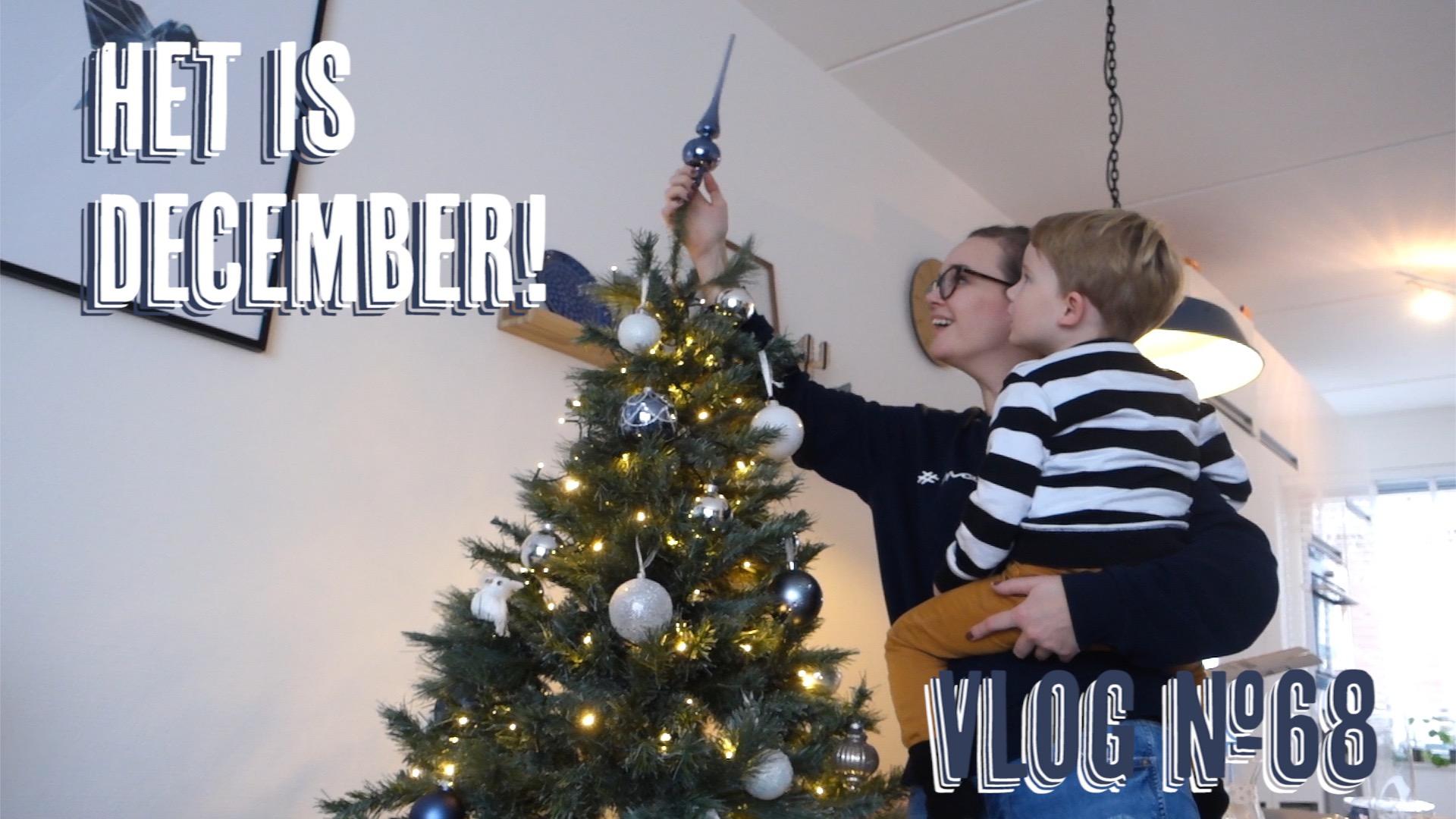 Vlog 68 still - Vlog #68: Sinterklaas vieren & Kerstboom opzetten!