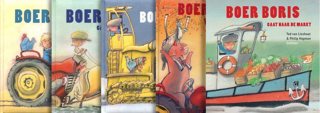 Kinderboekentip: Boer Boris