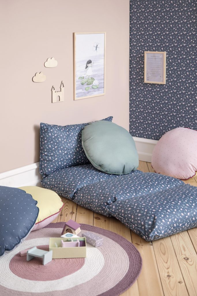 Available 2.May2019 SostreneGrene FloorCushion1 min 4480x6720 683x1024 - SØstrene Grene: Kinderkamer collectie 2019