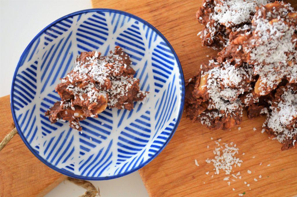 DSC 1626 4928x3264 1024x678 - Pindarotsjes met karamel-zeezout chocolade & kokos