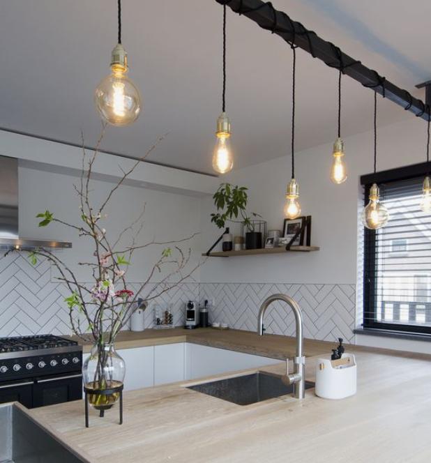Lampen inspiratie keuken eettafel - Lampen inspiratie voor het nieuwe huis!