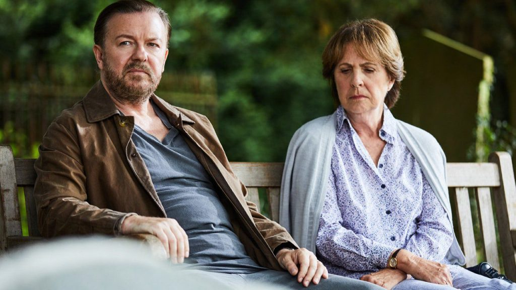 after life netflix 1552302940 1024x576 - Kijktip; After Life met Ricky Gervais