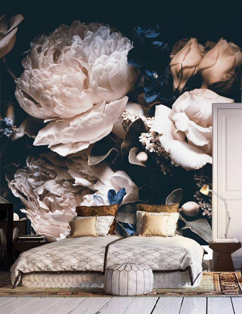 Behang keuken Elisejoanne.nl  790x1024 - Onze nieuwe meubelen, verf & behang voor rond de 'keuken'.