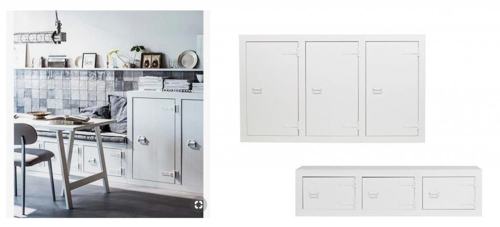 Eettafel bank woonkamer keuken elisejoanne.nl  1024x465 - Onze nieuwe meubelen, verf & behang voor rond de 'keuken'.