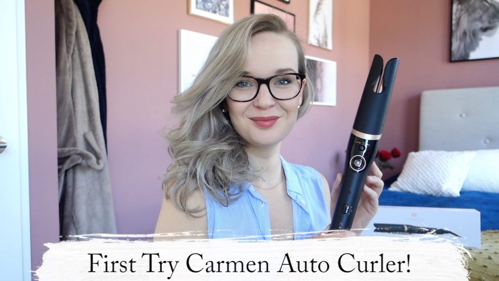 Still Carmen Video Elise Joanne 1024x576 - Frist try! Carmen Rotating Auto Curler