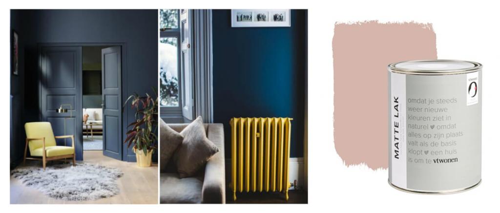 Verfkleuren woonkamer Keuken elisejoanne.nl  1024x436 - Onze nieuwe meubelen, verf & behang voor rond de 'keuken'.