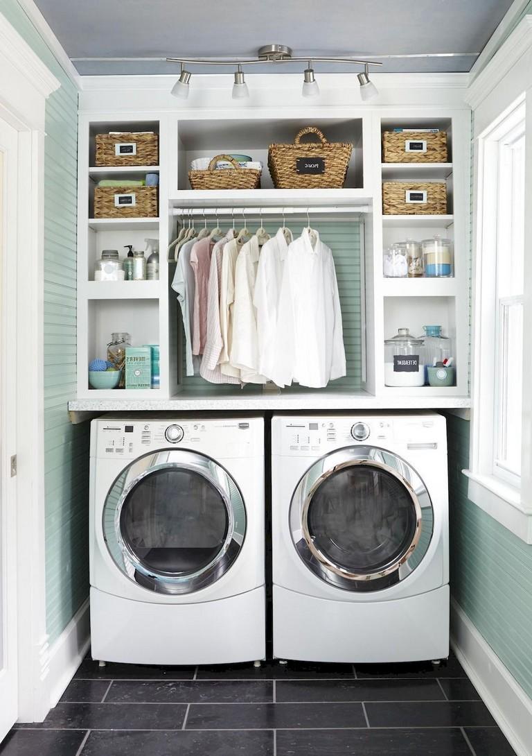 98 Cool Modern Farmhouse Laundry Room Ideas 2 - Slaapkamer inspiratie, hoe gaan wij deze ruimte aanpakken?