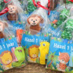 Hazel's traktatie voor de opvang - met knijpfruit & knuffeltje