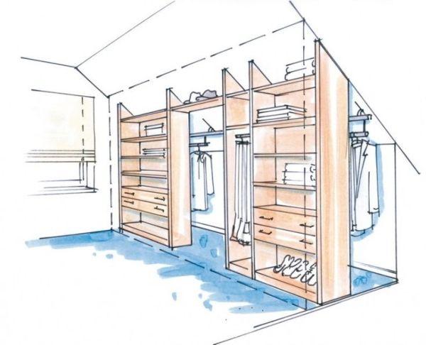 Slaapkamer inspiratie, van een open ruimte een geheel maken