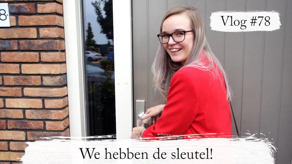 Vlog #78: We hebben de sleutel! + House Tour - Elisejoanne.nl