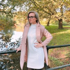 Herfst- & winteroutfit: Lovely Pink & Soft Knits!