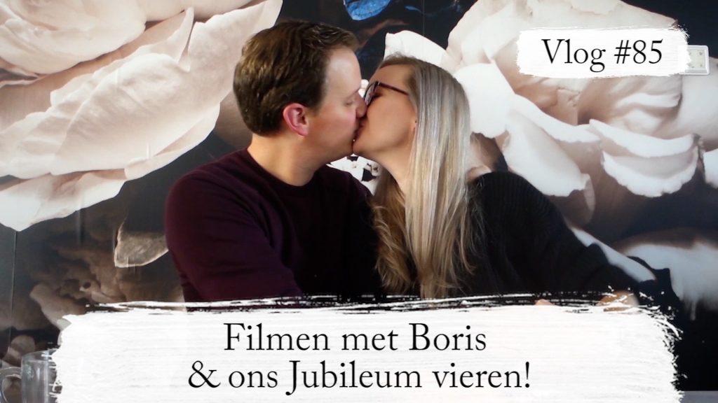 Vlog #85: Schoentje zetten & Jubileum vieren met Boris!