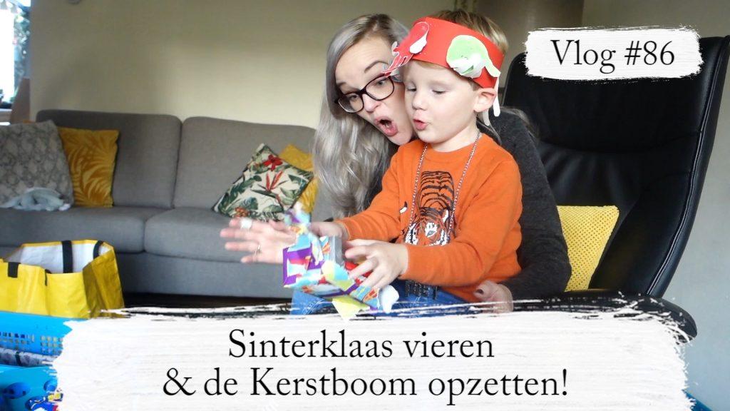 Vlog #86: Sinterklaas vieren & de Kerstboom opzetten!