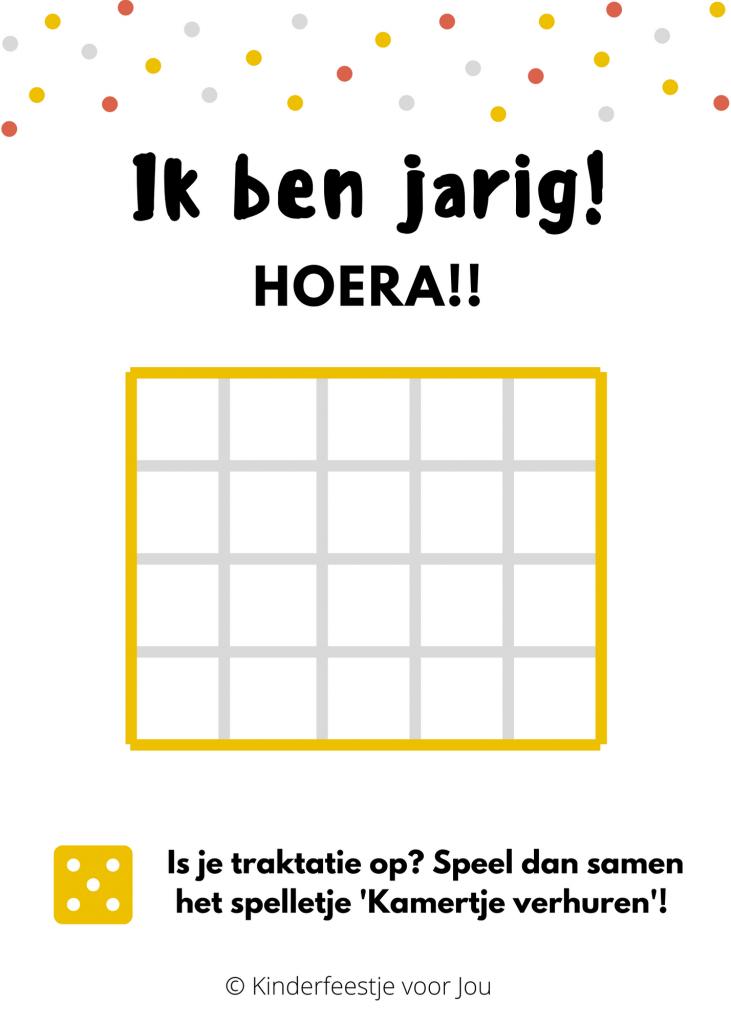 Traktatiekaart Kamertje Verhuren 731x1024 - 4 x creatieve, haalbare en leuke traktaties! + Gratis printables
