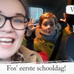 Vlog #88: Eerste schooldag voor Fos + Date Day met Boris!