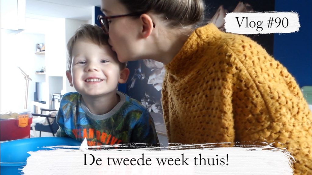 Still vlog 90 1024x576 - Vlog #90: De tweede week thuis; zo houden wij de kinderen & onszelf bezig!