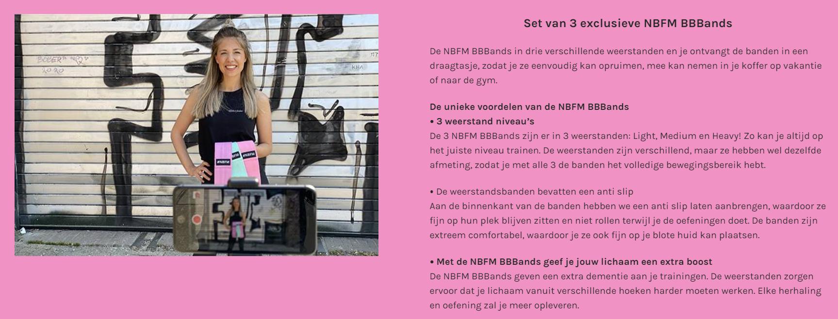 NBFM x Elisejoanne.nl  - Ik doe mee aan de 21 dagen Buik-Billen-Benen Challenge!