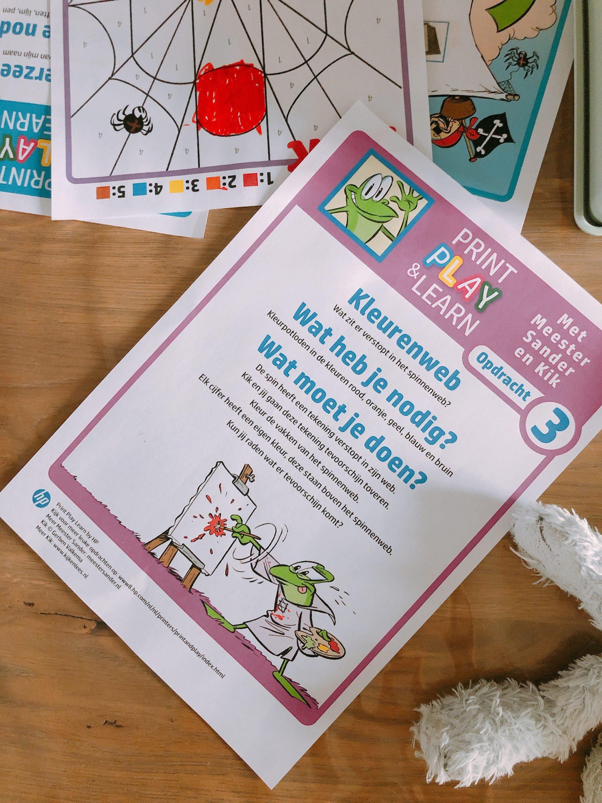 IMG 8364 scaled - Spelenderwijs thuis leren met vrolijke opdrachten + printables!