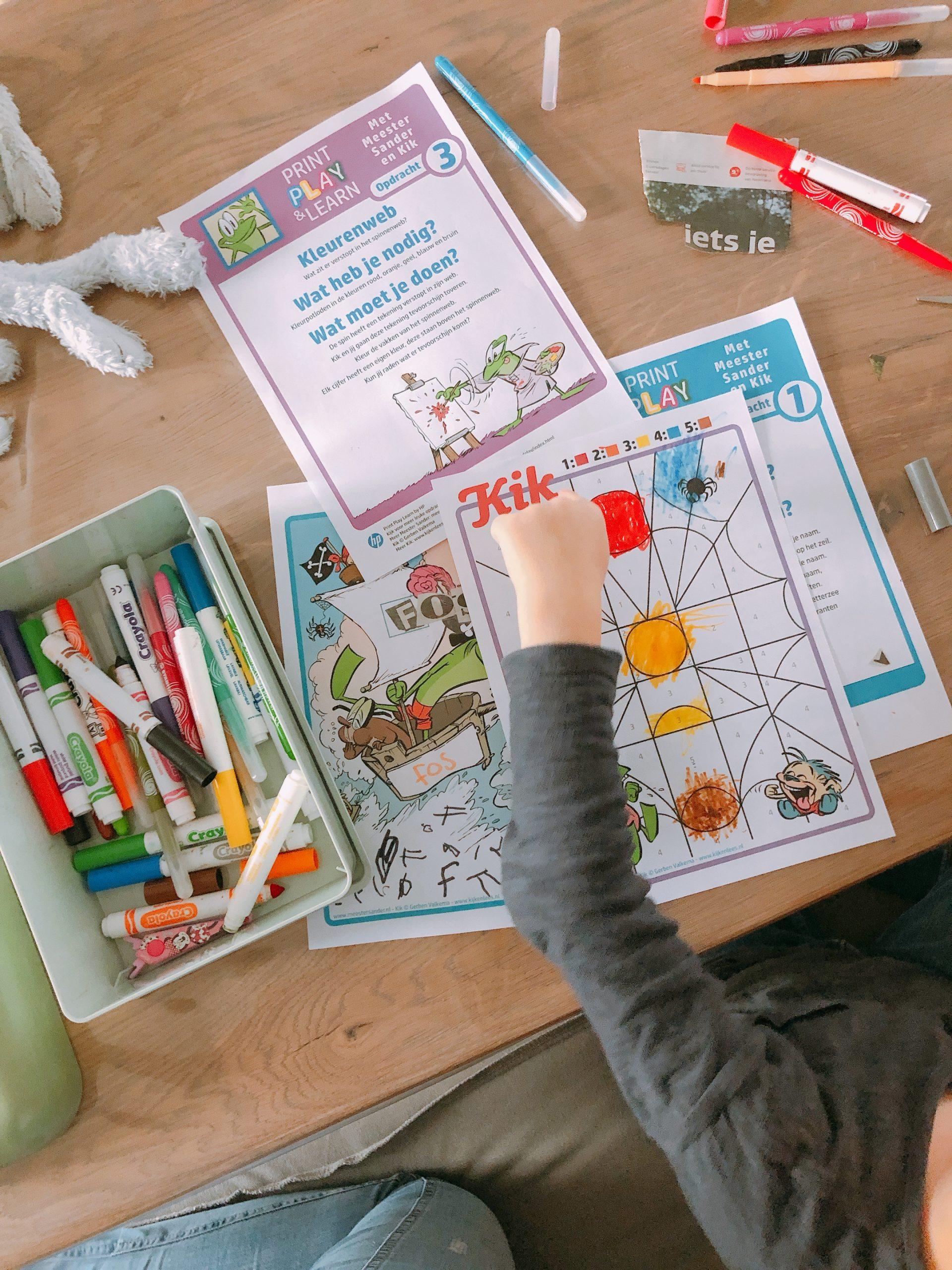 IMG 8393 scaled - Spelenderwijs thuis leren met vrolijke opdrachten + printables!